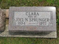 Clara <i>Ellenberger</i> Sprunger