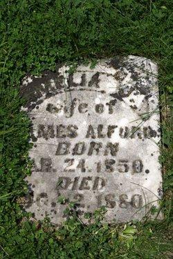 Amelia J <i>Bridgwater</i> Alford