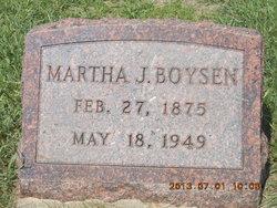 Martha J. <i>Petersen</i> Boysen