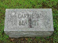 Carrie D. <i>Langworthy</i> Bennett