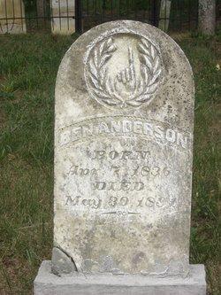 Benjamin Ben Anderson