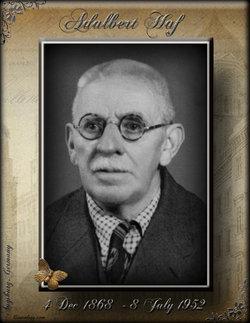 Adalbert Haf, Sr