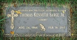Thomas Kenneth Tommy Sarge, Jr