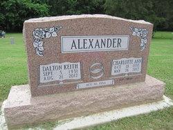 Charlotte Ann <i>Smith</i> Alexander