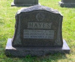 Josephine N. <i>Downes</i> Hayes