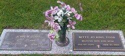 Betty Jo <i>King</i> Todd