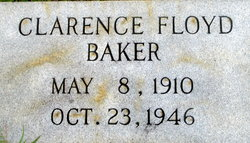 Clarence Floyd Baker