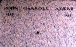 John Carroll Akers