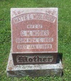 Mattie E. <i>Woolridge</i> Mosier