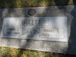 Claude Edwin Hulett
