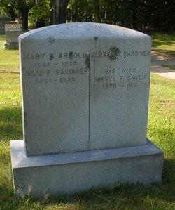 Mary Frances <i>Gardiner</i> Arnold