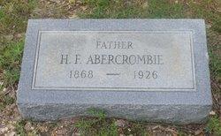 H. F. Abercrombie
