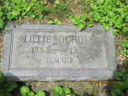 Lillian Lillie Nichols