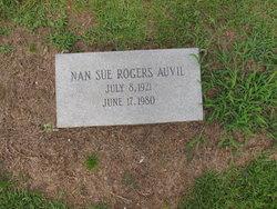 Nan Sue <i>Rogers</i> Auvil