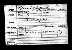 Pvt William H Kennard