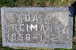 Ada A <i>Hoyt</i> Reimann