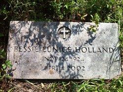Bessie Eunice <i>Freeman</i> Holland
