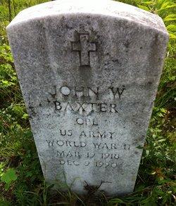 John W Baxter