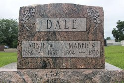 Mabel K <i>Dutro</i> Dale