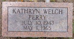 Kathryn <i>Welch</i> Perry