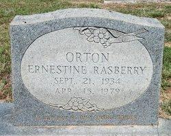 Ernestine Earline <i>Rasberry</i> Orton