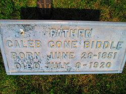 Caleb Cone Biddle