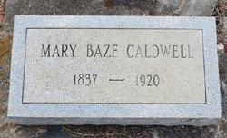 Mary Jane <i>Baze</i> Caldwell