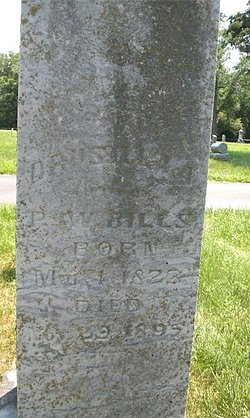 Drusillia A. <i>Barlow</i> Bills