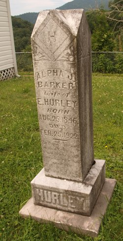 Alpha Jane <i>Barker</i> Hurley