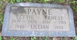 Settie Elizabeth <i>Johnson</i> Payne Sanders Boyd