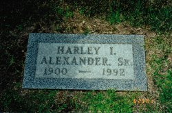 Harley Iomer Alexander, Sr