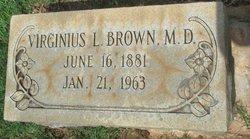 Virginius L Brown, MD