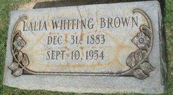 Lalia <i>Whiting</i> Brown