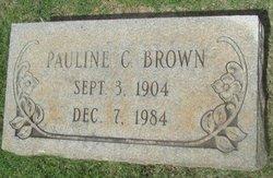 Pauline C Brown