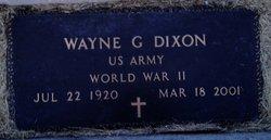Wayne George Dixon