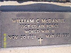 William C Jack McDaniel