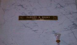 Harriet Annie Cache <i>Bates</i> Brown