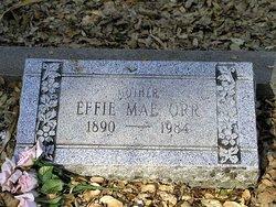 Effie Mae <i>Galloway</i> Orr