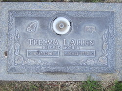 Thelma I Allen