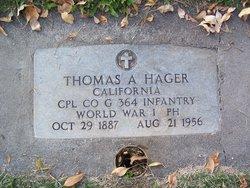 Thomas A. Hager
