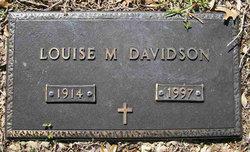 Louise <i>McBryde</i> Davidson