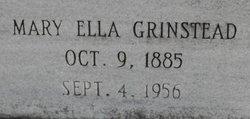 Mary Ella <i>Grinstead</i> Coleman