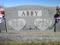 Clarence W Abby