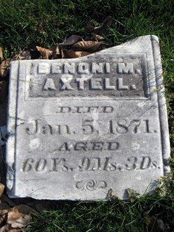 Benoni M Axtell