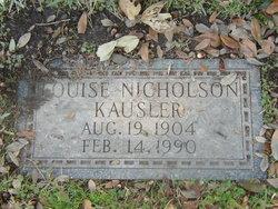 Ethel Louise <i>Nicholson</i> Kausler
