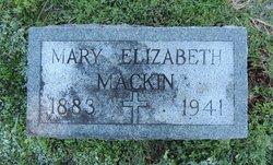 Mary Elizabeth Mackin