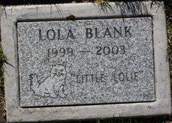 Lola Little Lolie Blank