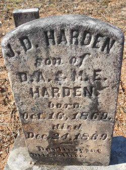J. D. Harden