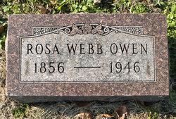 Rosa <i>Webb</i> Owen