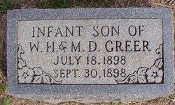 Infant Son Greer